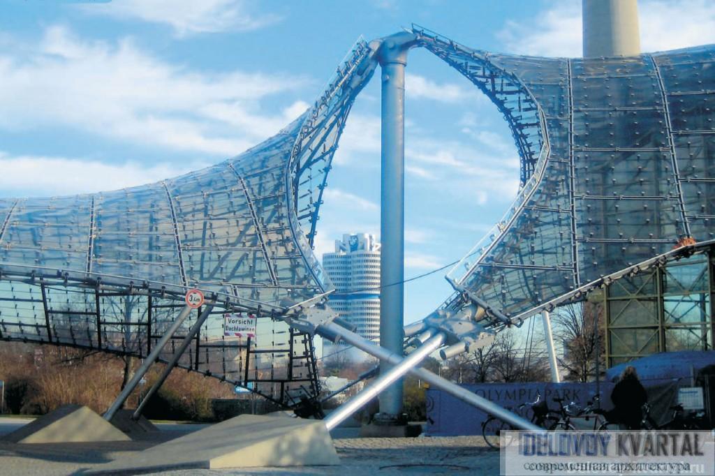Архитектура Мюнхена. «Олимпийское кольцо»