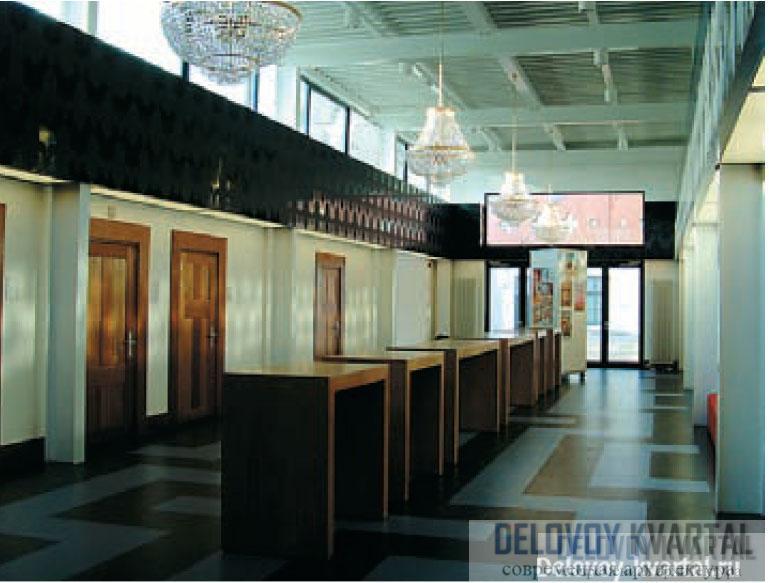 Британская архитектура. Архитектурное бюро FAT (Великобритания). Академия искусств Синт Лукас. Бокстел, Нидерланды