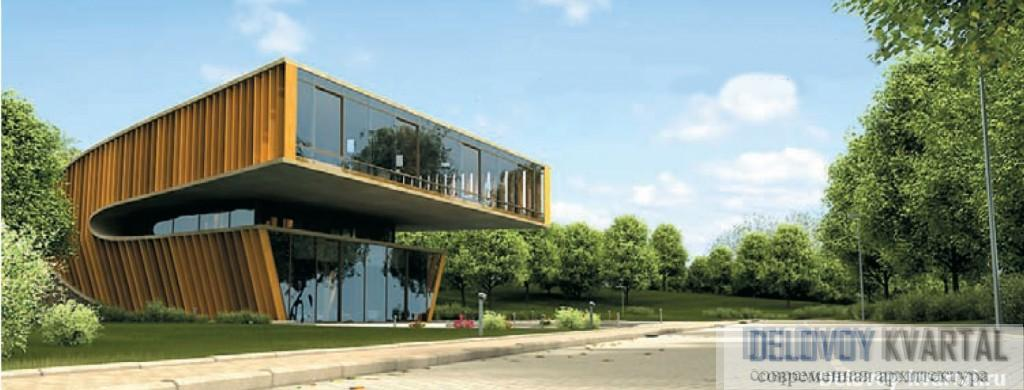 Проект коттеджа, разработанный арх. Владимиром Плоткиным специально для «ИНКОМ-Недвижимость»
