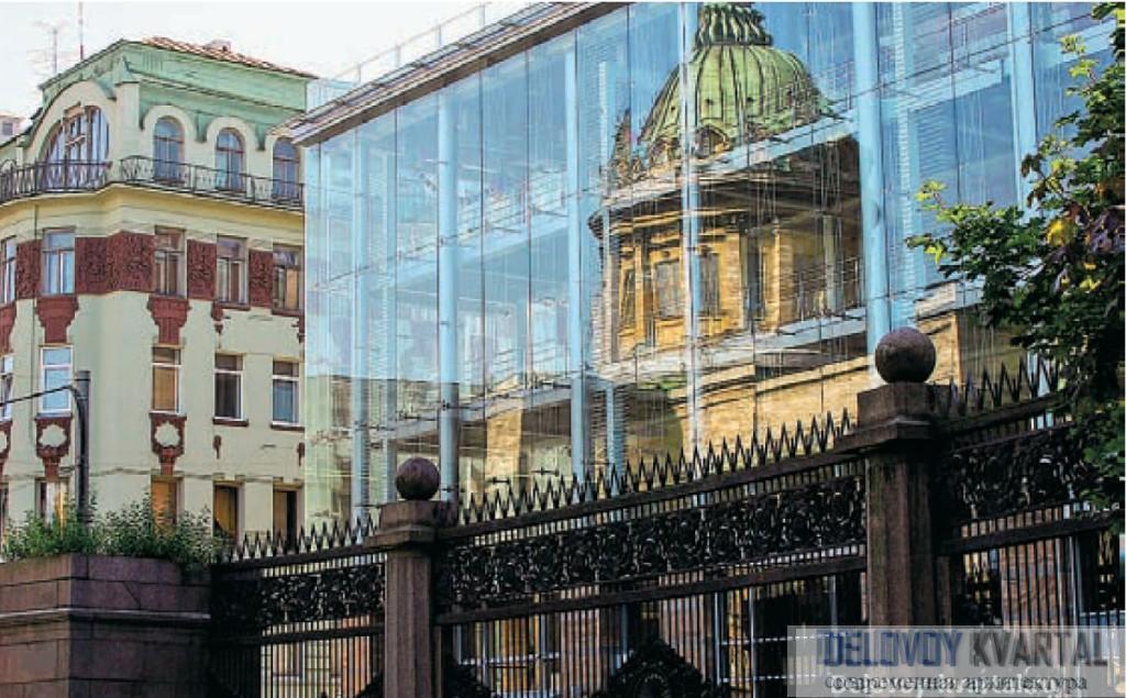 Архитектура Санкт-Петербурга. Торговый комплекс «Опера». Бюро «Рейнберг&Шаров»
