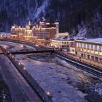 Туристско–спортивный горноклиматический курорт «Красная Поляна»