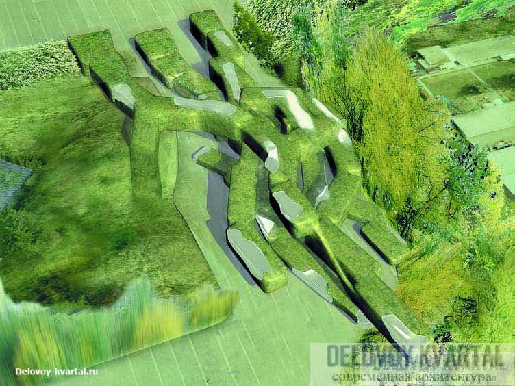 Green Gorgon. Музей Лозанны, часть которого представляет собой лабиринт. При входе в него посетитель получает устройство GPS, с помощью которого может найти выход. Швейцария