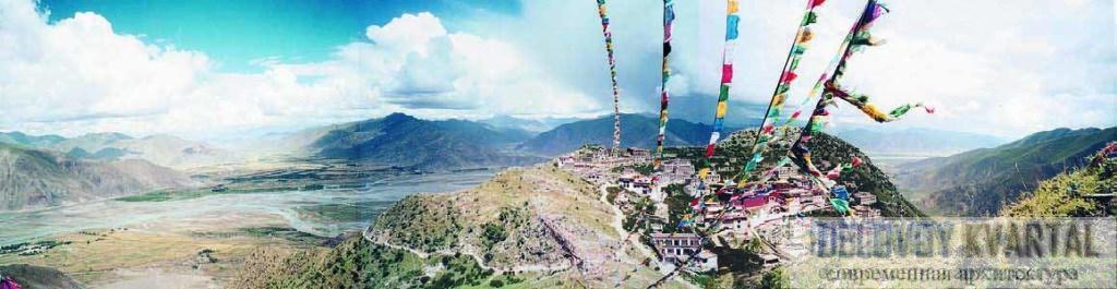 Тибетский монастырь Гангдан