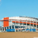 """Ледовый дворец спорта """" Мегаспорт"""" на ходынском поле"""
