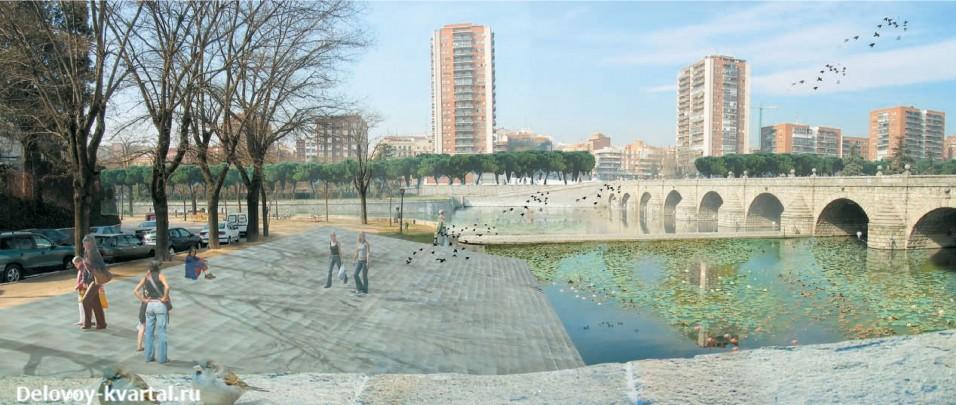 Важной составляющей парка стала вода
