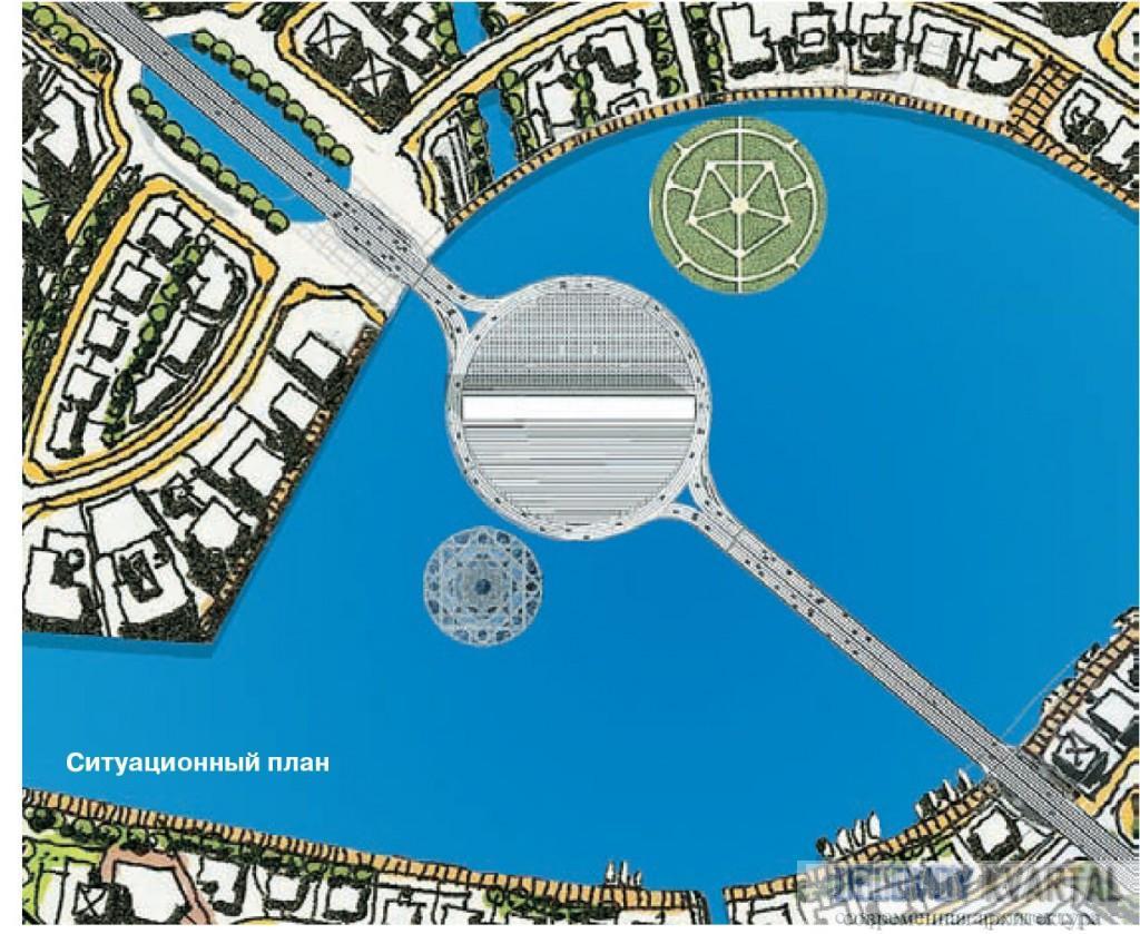 Dubai Renaissance. Ситуационный план