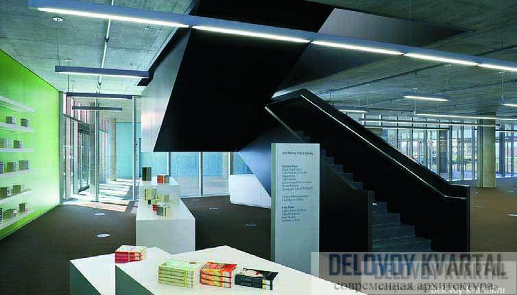 Публичная библиотека в Де-Мойне, Айова, США. David Chipperfield Architects