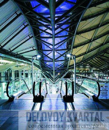 Железнодорожный вокзал Southern Cross Station, Мельбурн, Австралия. Grimshaw Architects