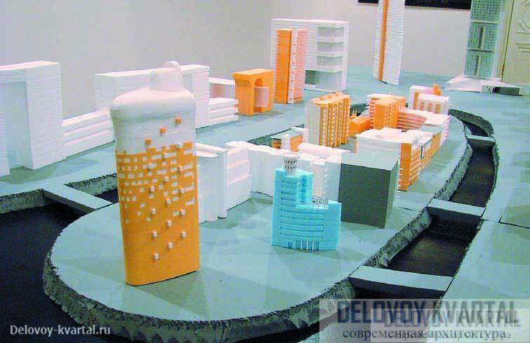 Макет «Согласованного города» состоящий только из творений Алексея Бавыкина, занял один из залов на его монографической выставке в МуАре Этот арт-объект, представленный на выставке Алексея Бавыкина, напоминает его проект офисного здания на Можайском шоссе