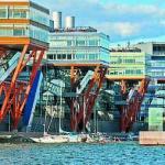 Мармолеум в архитектуре – настоящий, природный линолеум