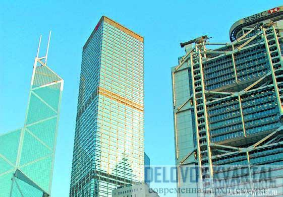 В центре: штаб-квартира Cheung Kong Holdings