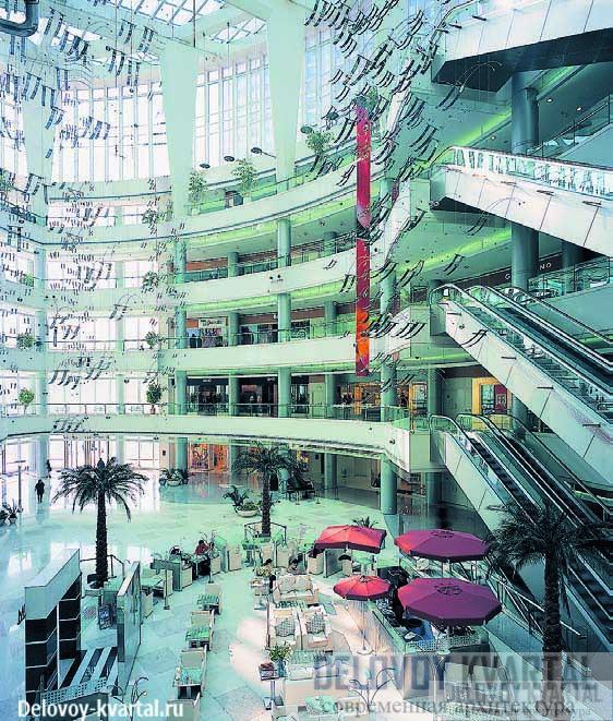 Офисно-торговый центр Plaza 66, Шанхай