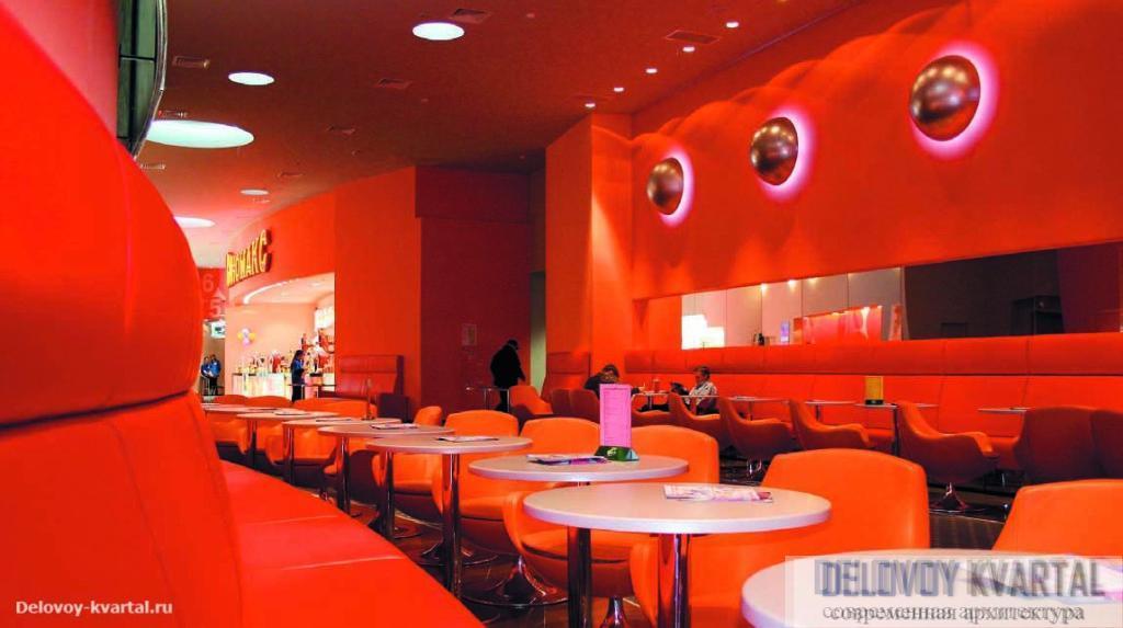 Red-бар в киноцентре «Киномакс» в Казани