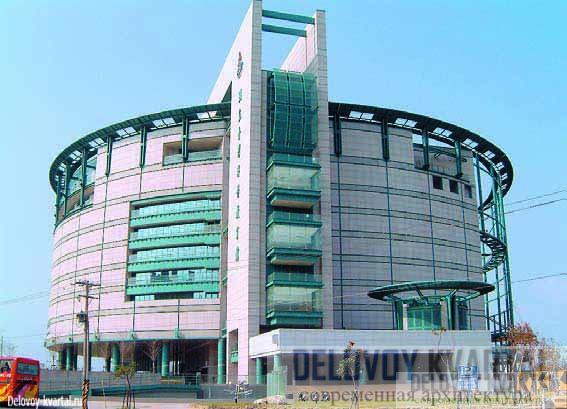 Национальный тайваньский научно-образовательный центр. Арх.: Shao-lian Chiang, 2003