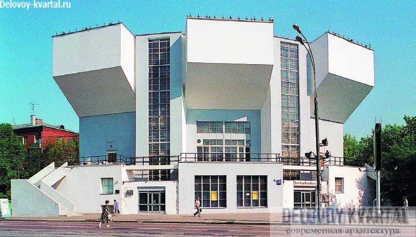 Клуб им. Русакова. Москва. Константин Мельников. 1927