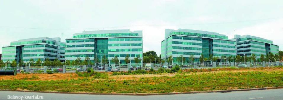 Бизнес-парк «Крылатские Холмы» спроектированный российским архбюро ABD architects