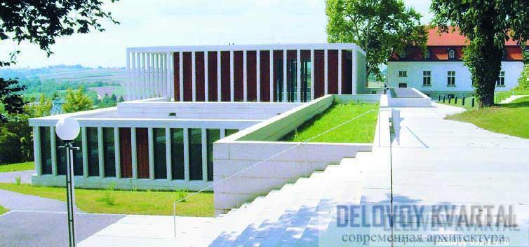 Музей современной литературы, Марбах. 2006 Арх.: David Chipperfield Architects
