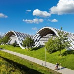 Центр Пауля Клее — ландшафтная скульптура