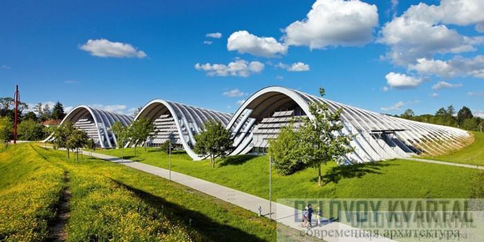 Центр Пауля Клее - ландшафтная скульптура