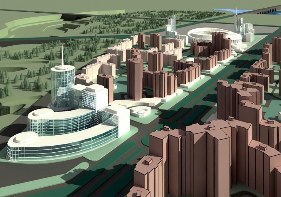 Новые градостроительные образования: от микрорайонов к городам