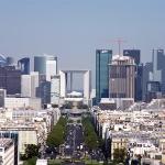Деловой район Дефанс в Париже