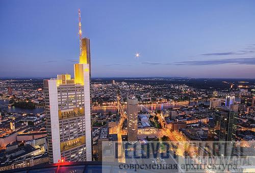 Небоскреб «Коммерцбанка». Франкфурт-на-Майне, Германия