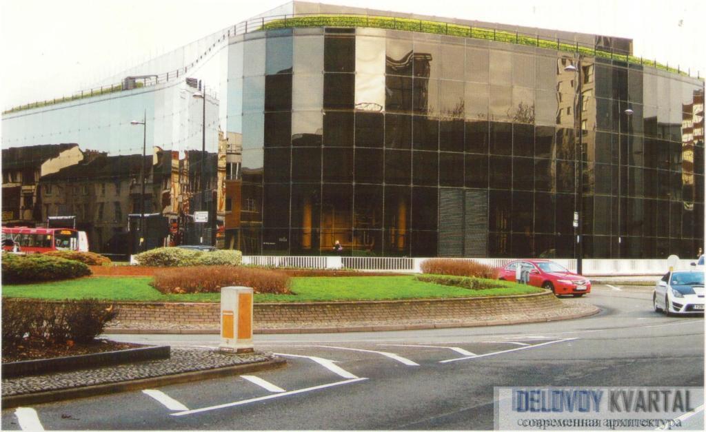 Штаб-квартира страховой компании «Уиллис, Фейбер и Дюма». Ипсвич, Великобритания
