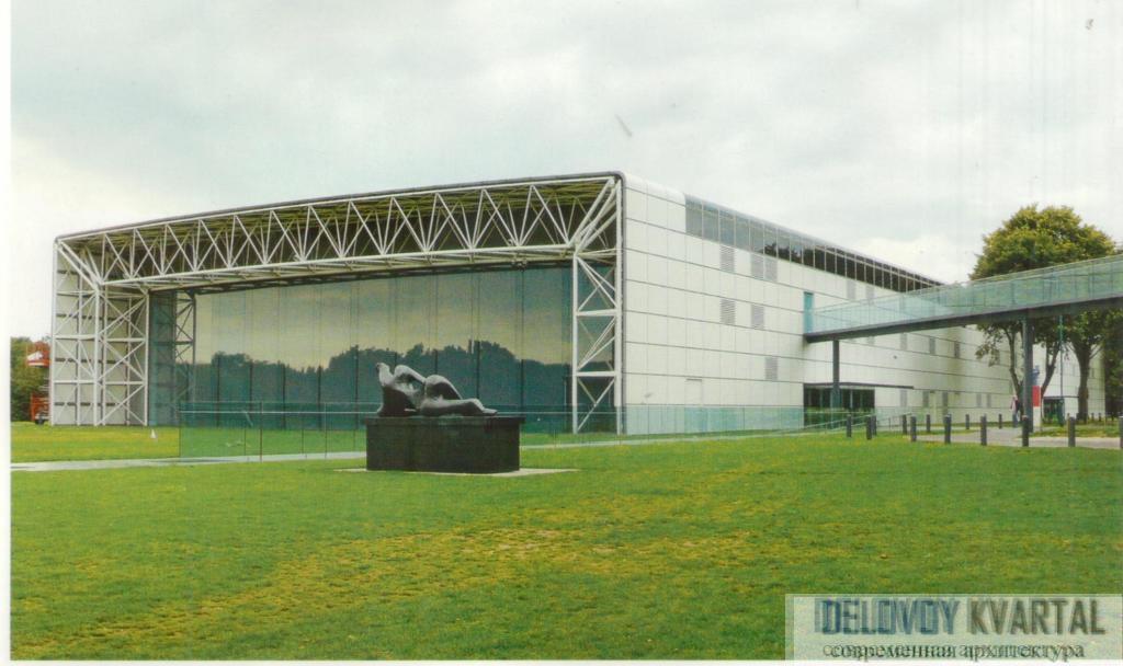 Центр изобразительных искусств Сейнсбери. Норвич, Великобритания