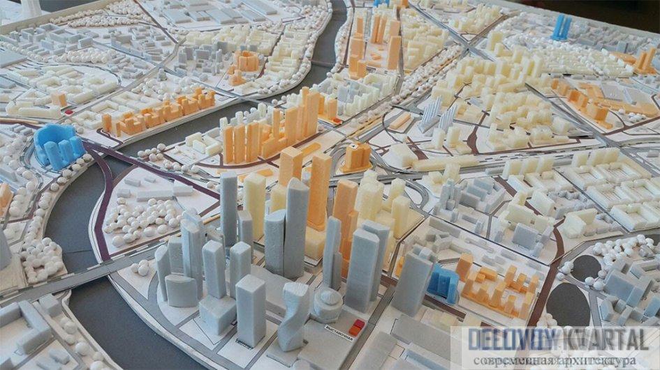 «Новый центр» («Большой сити») - проект застройки
