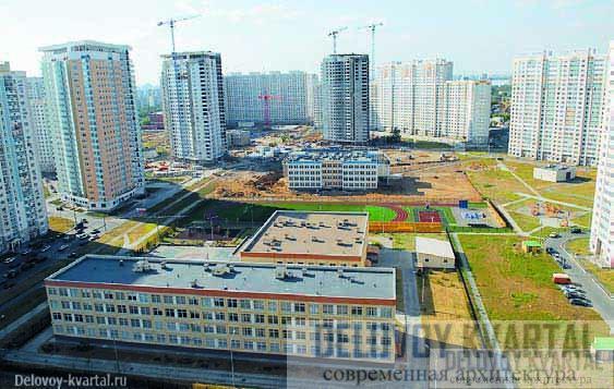 Министерство обороны и строительство. Пока в основном на землях военных строится типовое жилье эконом класса
