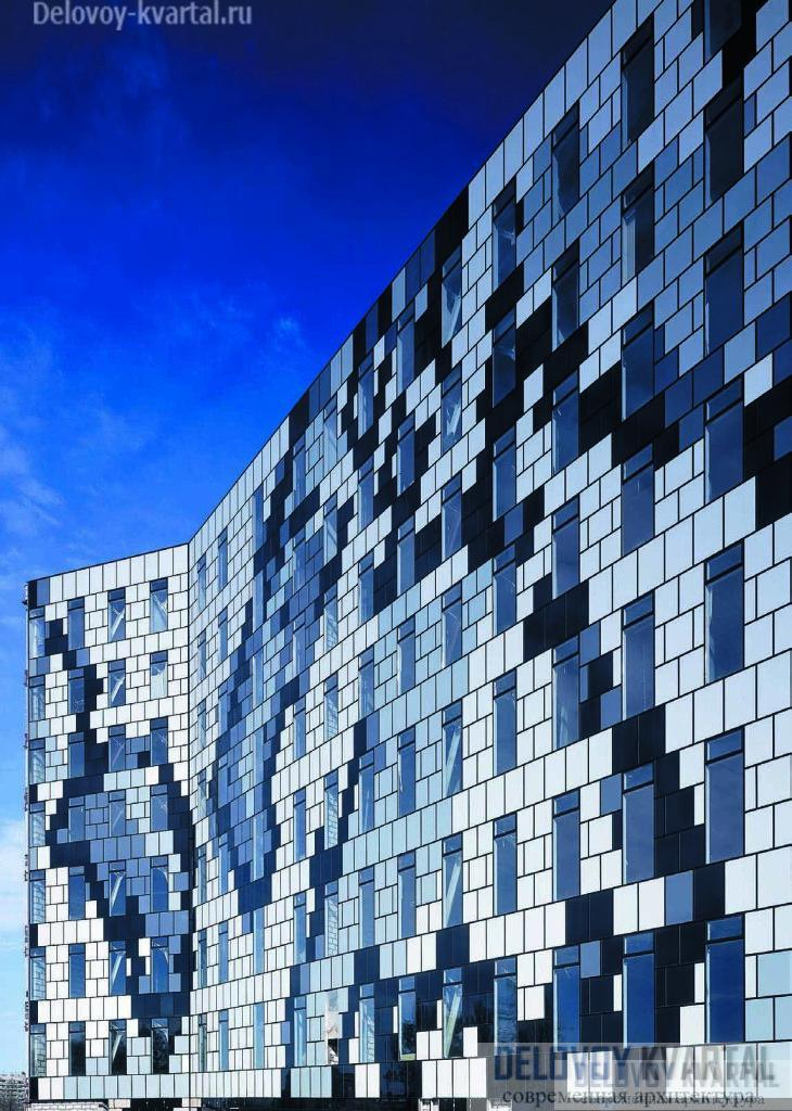 Бизнес-центр «Бенуа», Санкт-Петербург. Холдинг «Теорема». nps tchoban voss, «Чобан и партнеры»