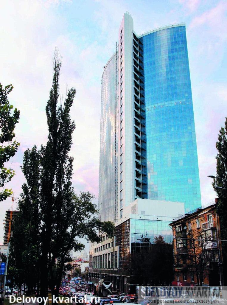Торгово-офисный комплекс «Парус», Киев. «Мандарин Плаза». «Бюро инвестиционных проектов – проектный менеджмент»