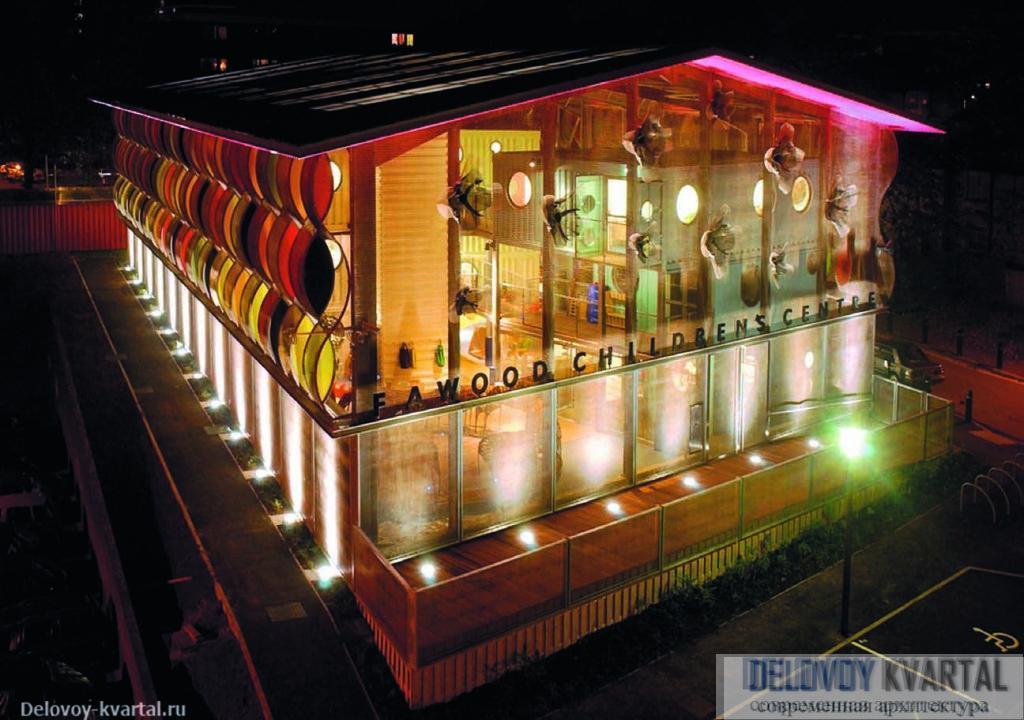Многофункциональный детский комплекс Fawood. Лондон. 2004