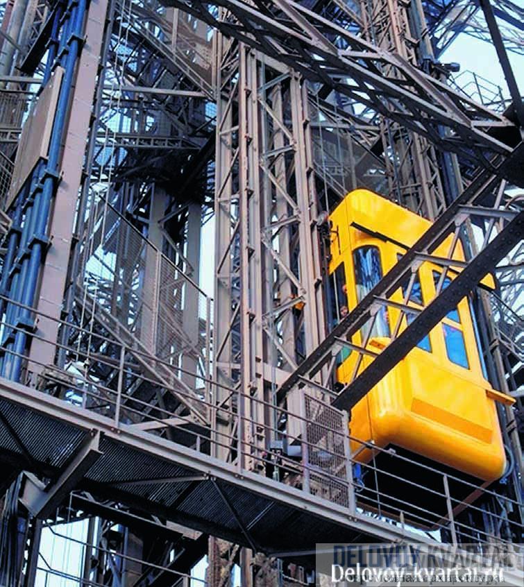Устройство лифта. Нередко инженерное решение лифтовой шахты становится самостоятельным архитектурным приемом