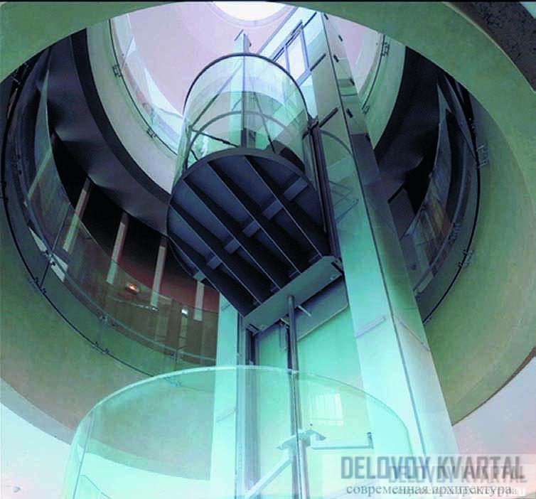 Система Twin позволяет независимо двигаться двум кабинам лифта в одной шахте