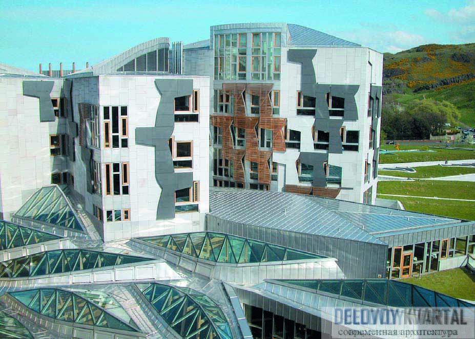 Здание Парламента Шотландии
