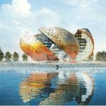 Проект офисно-жилого комплекса «Апельсин» Фостера