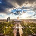 Общественно-развлекательный центр «Хан Шатыр». Астана, Казахстан