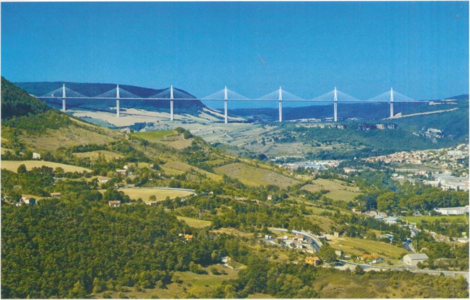 Мост (виадук) Мийо Фостера, Франция