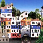 Дом Хундертвассера в Вене — эксцентричная архитектура