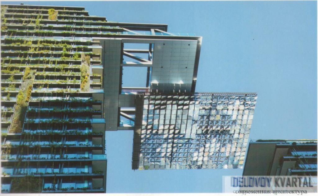 Жилой комплекс «Уан-Сентрал-парк». Сидней, Австралия. Завершение кровли