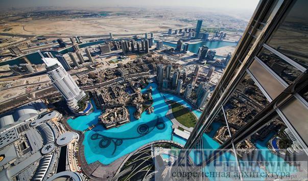 Смотровая площадка небоскрёба Бурдж Халифа