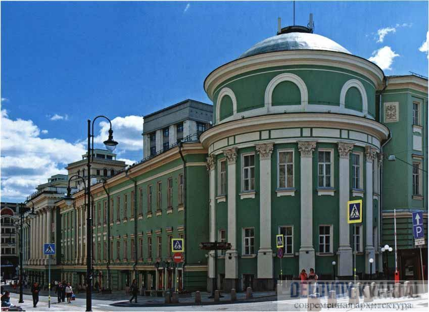 Дом Дворянского собрания. Вид с ул. Большой Дмитровки