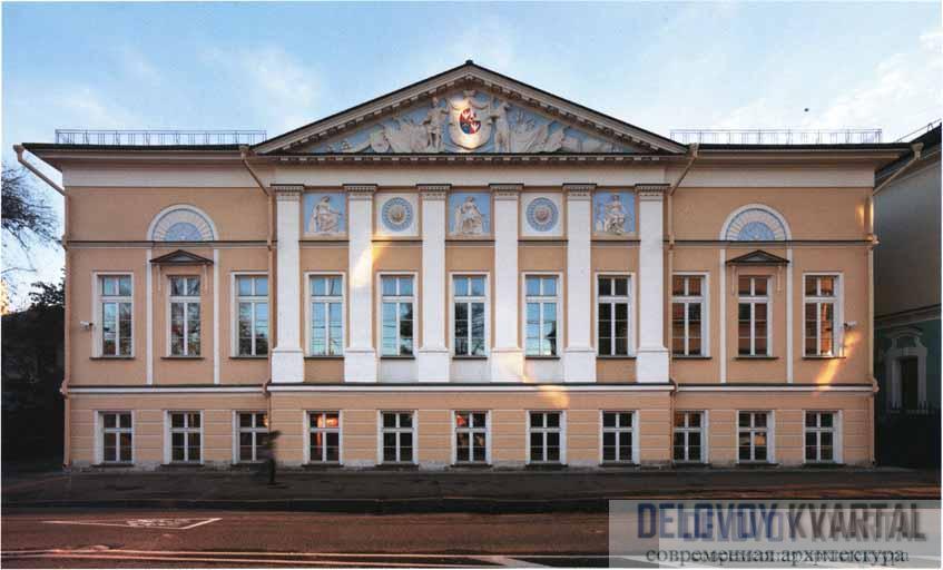Дом А. Б. Куракина на ул. Новой Басманной