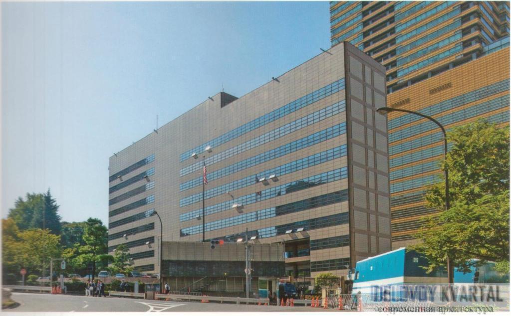 Посольство США. Токио, Япония