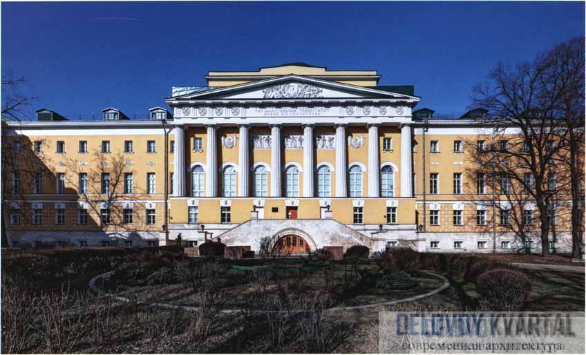 Московский университет (Моховая улица) - архитектор Казаков М. Ф.