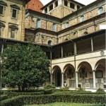Церковь Сан-Лоренцо. Старая сакристия — архитектор Брунеллески