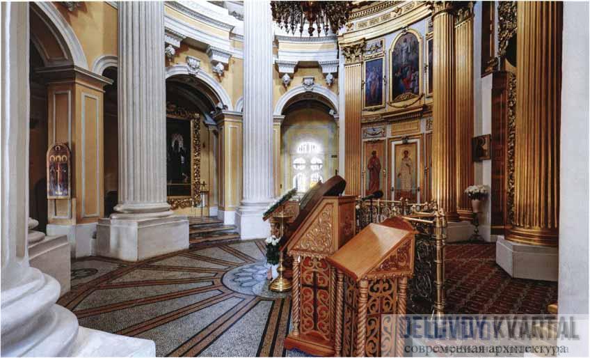 Церковь Святителя Филиппа, митрополита Московского на ул. Гиляровского. Интерьер