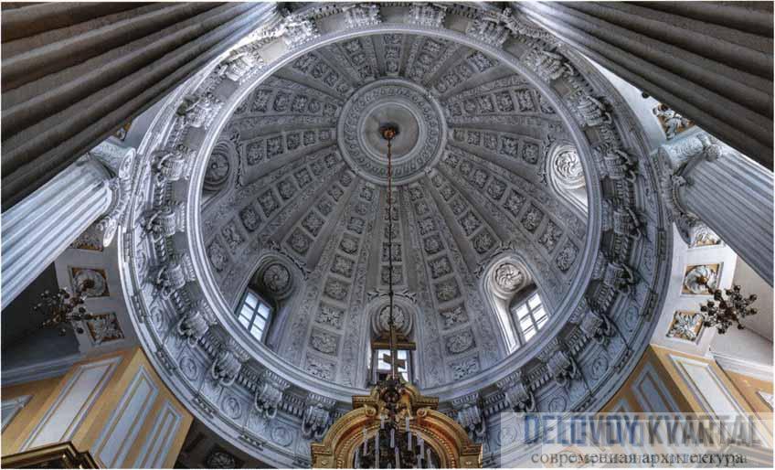 Церковь Святителя Филиппа, митрополита Московского. Купол ротонды
