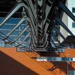 Хвост ласточки — пешеходный мост Zouthaven, Амстердам
